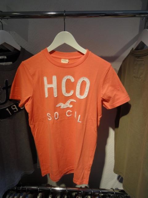 ホリスターTシャツ